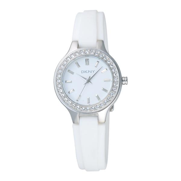 DKNY 簡約優雅時尚腕錶-白