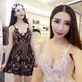 夜場女裝新款性感V領蕾絲露背夜店裙子收腰低胸吊帶連衣裙夏 魔法街