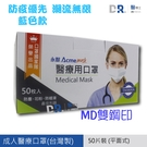 【醫博士】永猷 雙鋼印 成人醫療用口罩5...