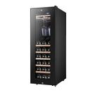 電子恆溫恆濕紅酒櫃家用冰吧30支裝 掛杯茶葉冷藏櫃風冷雪茄櫃WD  檸檬衣舍