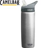 丹大戶外用品 美國【CamelBak】eddy多水系列 720ml 吸管不銹鋼水壺/醫療級302不鏽鋼 53381 原色