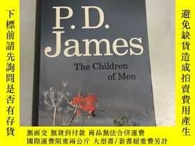 二手書博民逛書店the罕見children of menY20850 P.D.James A Time Warner Comp