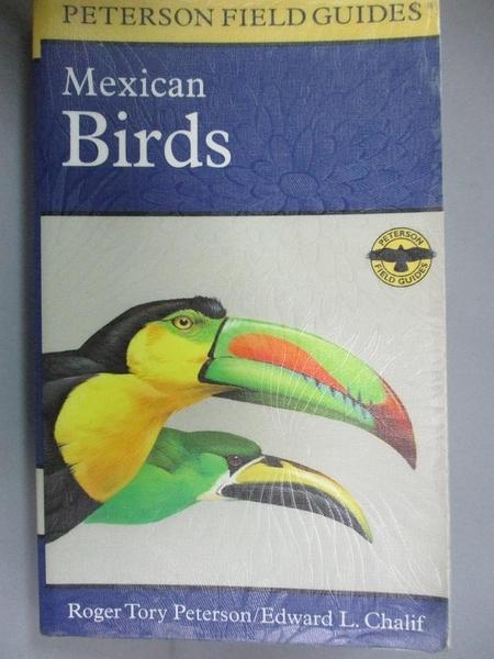 【書寶二手書T9/原文小說_NOR】A Field Guide to Mexican Birds: Mexico, Gu