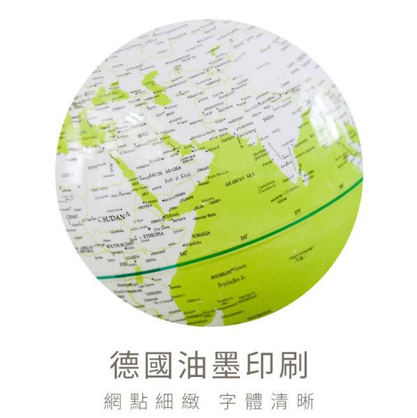 里和家居 l 12吋Colorful彩色發光地球儀-藍綠(英文版) 小夜燈 地圖