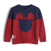 Gap男幼Gap x Disney 迪士尼系列米奇套頭毛衣522957-熱情紅