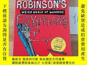 二手書博民逛書店TONY罕見ROBINSON S WEIRD WORLD OF WONDERSY246207