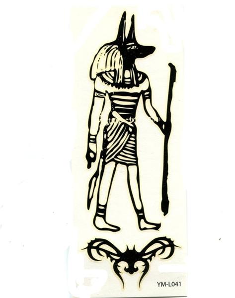 薇嘉雅 法老王紋身貼紙L041