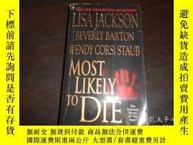 二手書博民逛書店MOST罕見LIKELY TO DLE,LISA JACKSON