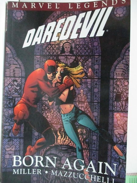 【書寶二手書T4/原文小說_FLP】Daredevil Legends: Born Again v. 2_Frank Miller