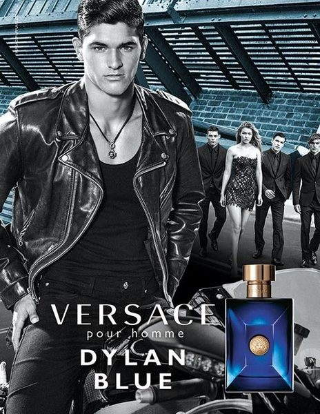 Versace 凡賽斯 狄倫 正藍 男性淡香水 50ml◐香水綁馬尾◐