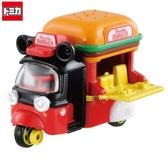 日本限定 Tomica 多美 迪士尼 米奇 漢堡店  模型小車