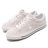 Converse One Star 灰 白 麂皮 基本款 男鞋 女鞋 滑板鞋 休閒鞋【ACS】 161577C