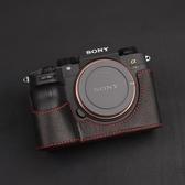 牛皮索尼A9 A7RM3皮套A7M3 A7RIII相機皮套索尼A7R3相機包保護套 米希美衣ATF