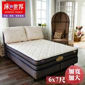 床的世界 美國首品名床柏克萊Berkeley加寬加大兩線獨立筒床墊