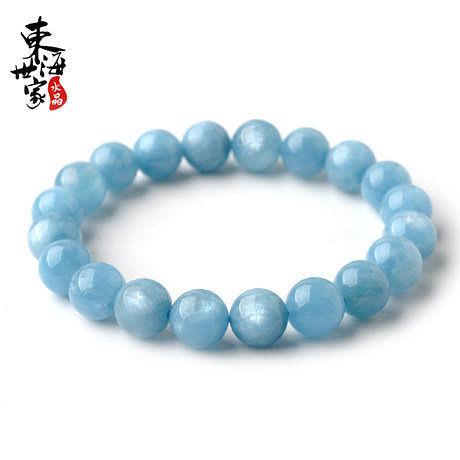 海藍寶手鏈 藍水晶