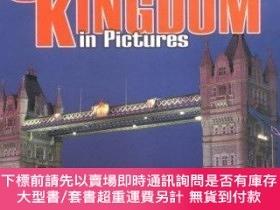 二手書博民逛書店United罕見Kingdom in Pictures (Visual Geography Series)-英國圖