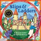 【one more 】美國 正品eeboo 美國知名親子桌遊Slips Ladders 龜兔競賽有 商檢標章