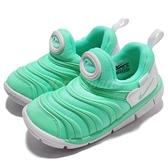 Nike 毛毛蟲鞋 Dynamo Free TD 綠 白 嬰兒鞋 幼兒鞋 小童鞋【ACS】 343938-309