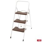 ◆折疊踏梯 Chocolat2 3層 DBR NITORI宜得利家居