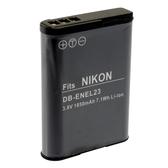 Kamera Nikon EN-EL23 高品質鋰電池 P600 P610 P900 S810c B700 保固1年 ENEL23 可加購 充電器