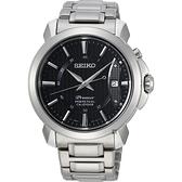 SEIKO 精工 Premier 紳士萬年曆手錶-銀/41.5mm 6A32-00Z0D(SNQ159J1)
