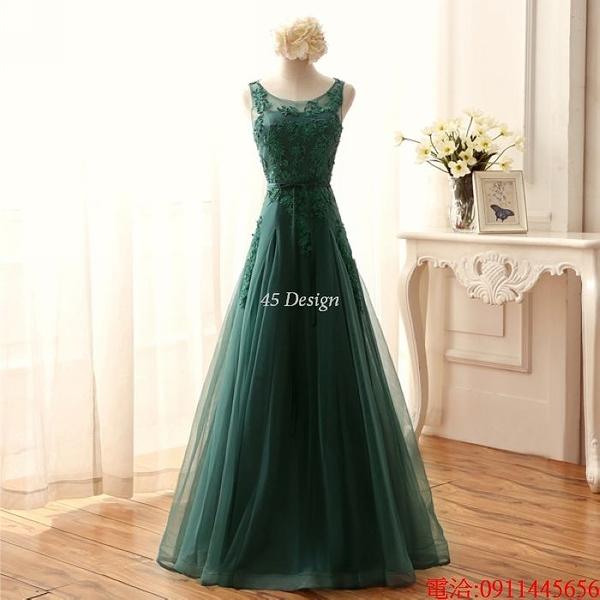 (45 Design)  7天到貨 禮服婚紗晚禮服短款晚宴年會 結婚小禮服短裙 大小顏色款式都能訂製16