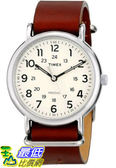 [105美國直購] Timex Unisex Weekender Watch With Leather Band