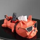 面紙盒 抽紙盒擺件輕奢風高檔紙巾盒客廳餐桌餐巾創意茶幾遙控器收納紙抽 快速出貨