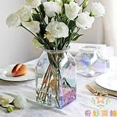 簡約干花瓶玻璃大花瓶歐式透明插花水培擺件【奇妙商鋪】