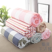 日式水洗棉夏被空調被夏涼被夏天薄款被子【極簡生活】