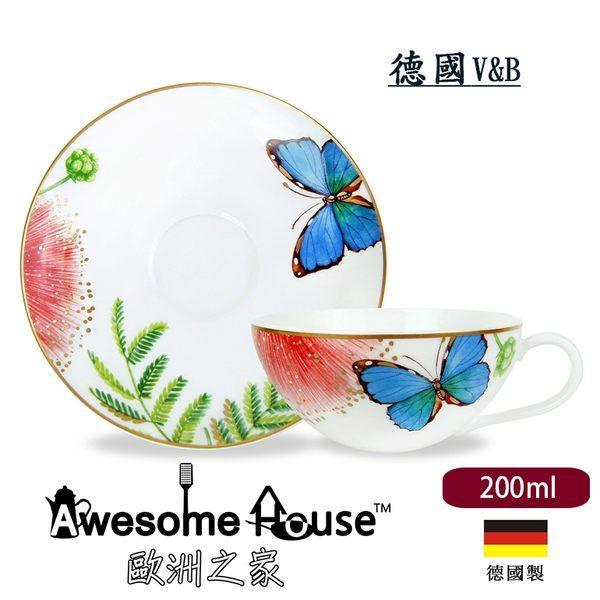 德國 V&B 唯寶 亞馬遜花鳥系列 0.2L 茶杯及底碟組 #1043811260
