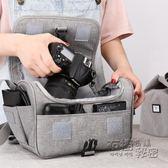 適用佳能單反相機包女尼康數碼收納包微單袋男鏡頭保護套攝影單肩200d便攜內 衣櫥秘密