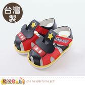 寶寶嗶嗶鞋 台灣製迪士尼米奇正版男童鞋 魔法Baby