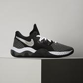 Nike Renew Elevate II 男 黑灰 運動 氣墊 緩震 籃球鞋 CW3406-004