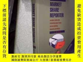 二手書博民逛書店MARKET罕見SHARE REPORTER 2008 市場佔有