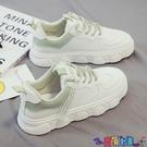 小白鞋 2021年秋冬季爆款小白鞋新款百搭板鞋運動老爹女鞋潮棉鞋 寶貝計畫 618狂歡