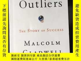 二手書博民逛書店Outliers罕見The Story of Success 成