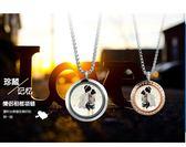 日韓版照片相框項鍊男女個性時尚可放相片定制情侶吊墜掛件配飾品