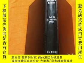 二手書博民逛書店The罕見Journal Of Botany 《植物學報1918