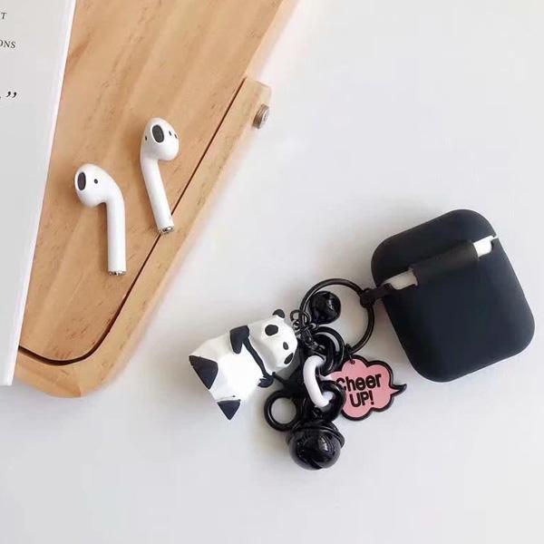 蘋果 AirPods 積木動物吊飾 保護套 Apple藍牙耳機盒 保護套 矽膠 軟殼