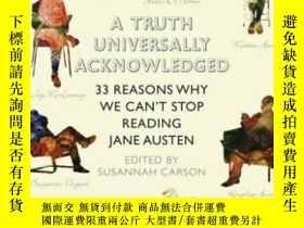 二手書博民逛書店A罕見Truth Universally AcknowledgedY255562 Susannah Carso