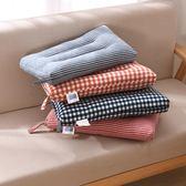 全棉水洗棉兒童0-6-12歲小枕頭可水洗寶寶幼兒園午睡矮枕芯30*50【雙11購物節】