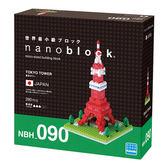 《Nano Block迷你積木》【 世界主題建築系列 】NBH-090東京鐵塔╭★ JOYBUS玩具百貨