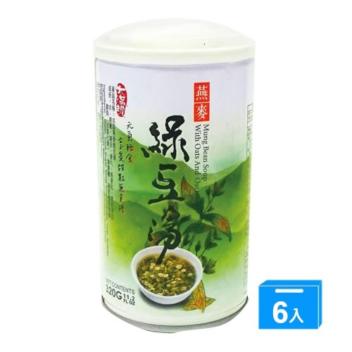 名屋燕麥綠豆湯320G*6【愛買】