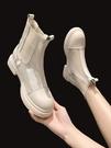 馬丁靴 馬丁靴女夏季透氣薄款網靴百搭短靴網紗鏤空涼靴女2021新款煙筒靴 美物