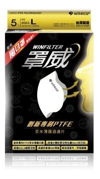 衛風-風系列口罩 替換過濾片  W-SERIES MASK 風口罩 密合、透氣、高濾效