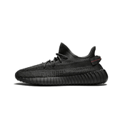 Adidas Yeezy Boost 350 V2 椰子鞋 純黑 反光滿天星 運動鞋 跑步鞋 FU9007  Bl(2262)