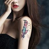 韓版紋身 設計款 紋身貼 韓版紋身貼 英文 字母 草寫 小清新 彩色紋身貼 刺青貼紙 8080