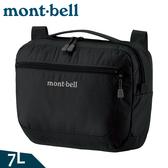 【Mont-Bell 日本 Travel Shoulder M 單肩包 7L《黑》】1123889/側背包/臀包/休閒包/隨身包