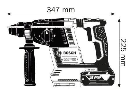 BOSCH  18V鋰電  四溝充電式鎚鑽 GBH18V-26  雙6.0AH 電池  (加贈3M手套喔!!)